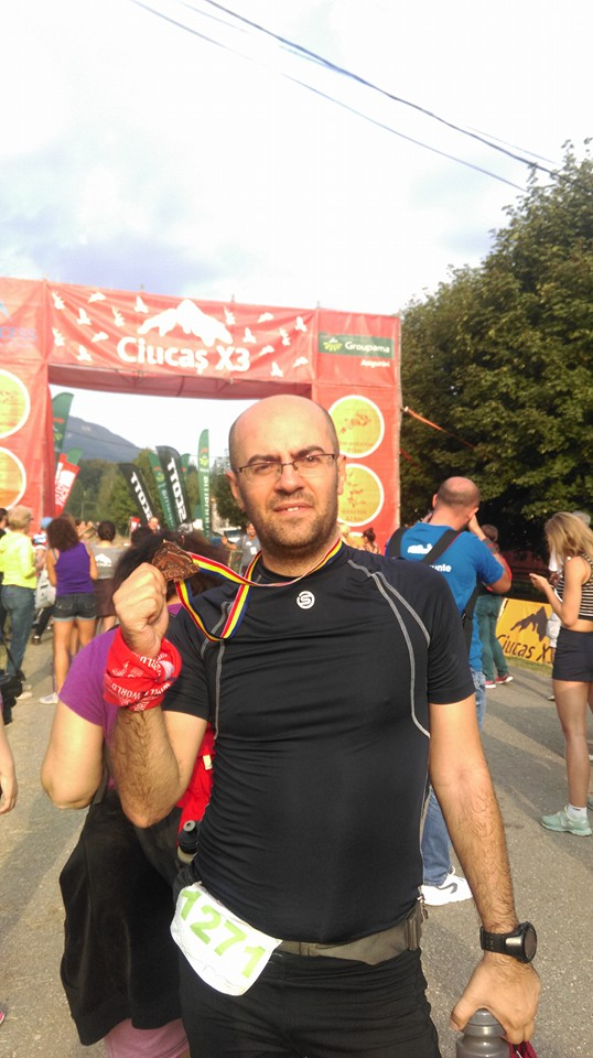 Finisher la Ciucas Maraton 2016